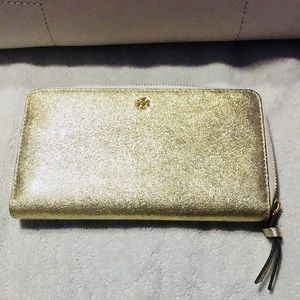 Tory Burch continental zip wallet